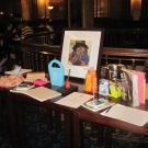 paddington-watches-over-the-raffle-prizes