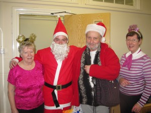 Christmas 2011 - One of the Guests looks more like Santa than Santa